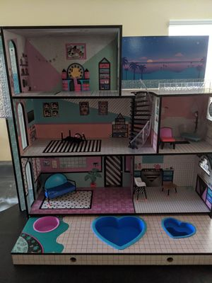 LOL Dollhouse and dolls for Sale in Riverside, CA