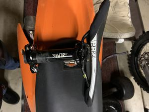 MTB Seat with seat post and seat clamp for Sale in Concord, CA