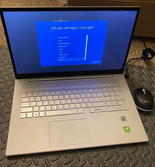 "HP Envy 17.3"" Touch Screen Laptop"