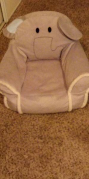 Elephant bean bag chair for kid for Sale in Denver, CO