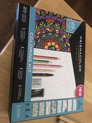 Brand new!! Prismacolor coloring kit (25) for Sale in Moneta, VA