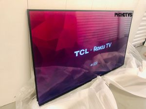 QLED TCL 55 INCH 4K ROKU SMART TV! Comes with legs and remote. 3 month guarantee. $579+tax retail at Best Buy! for Sale in Phoenix, AZ