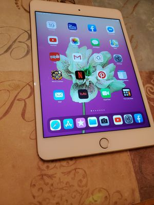 iPad Mini 4 Gold Wifi Model In Like New Condition! for Sale in Philadelphia, PA