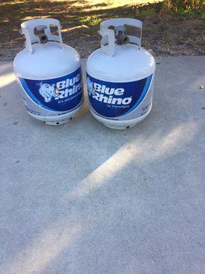 Blue rhino proane bottles for Sale in Nipomo, CA