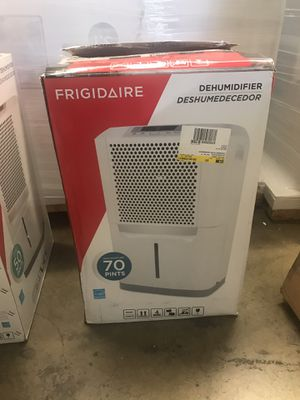 NEW Frigidaire 70 pint dehumidifier for Sale in Upland, CA