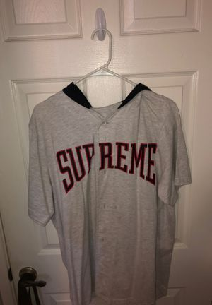 Supreme baseball hooded tee for Sale in Anaheim, CA