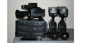 3 Ikegami studio camera system for Sale in Fresno, CA
