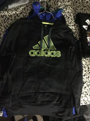 Adidas black neon sweater for Sale in Alexandria, VA