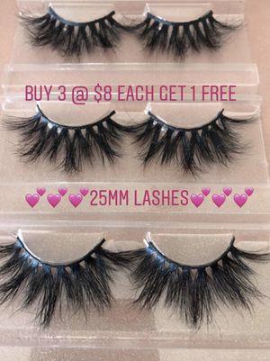 25MM Lashes 💗 Eyelashes BUY 3 GET 1 Free for Sale in Phoenix, AZ