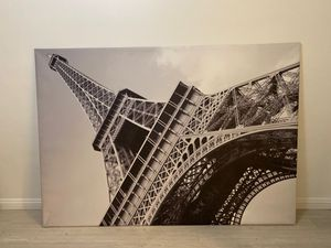 Large Eiffel Tower Frame on Canvas for Sale in Pasadena, CA