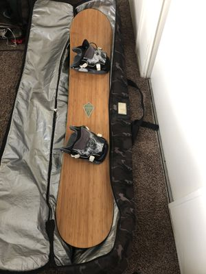 Arbor Bamboo/Carbon fiber Snowboard 160cm for Sale in San Diego, CA