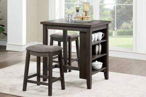 🌟🌟BLACK FRIDAY DEALS High 3 Piece Counter Height Table SET 2 Stools + 1 Table for Sale in Long Beach, CA