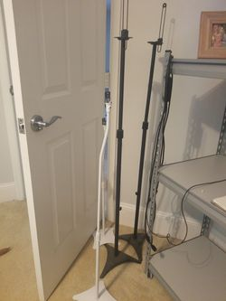 2 Pairs Of Small Speaker Stands for Sale in Port St. Lucie, FL