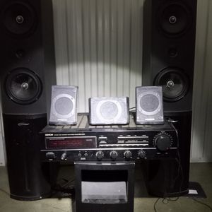 Complete Home Stereo Sound System for Sale in San Jose, CA