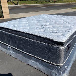 Full Blue Gel Hybrid Organic Memory Foam for Sale in Ontario, CA