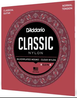 D'Addario Classical Guitar Strings for Sale in Hazelwood, PA