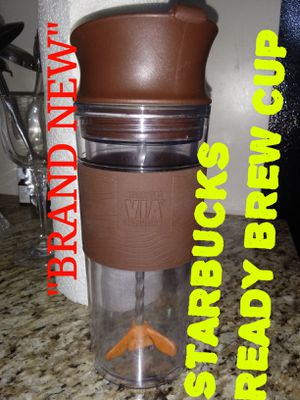 $15 obo...BRAND NEW . STARBUCKS READY BREW CUP... Trades are considered.. Green trades welcome for Sale in San Diego, CA
