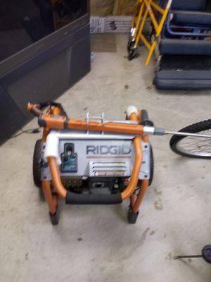 Rigid 3000 psi power washe for Sale in Calumet City, IL