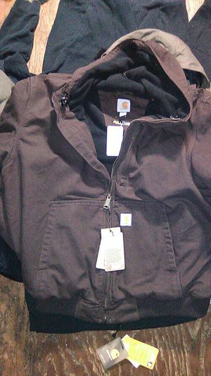 Carhartt jacket with hood for Sale in Puyallup, WA