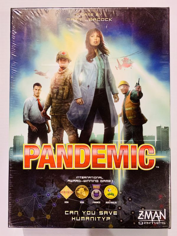 PANDEMIC Board Game Brand New Factory Sealed