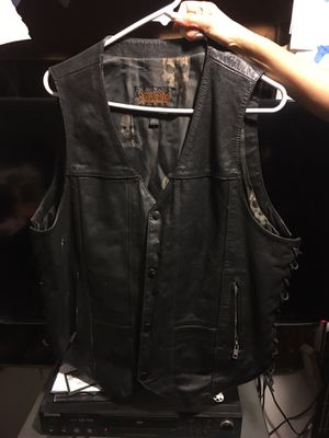 Men's Xl Street&Steel motorcycle cycle vest $70 bucks for Sale in Los Angeles, CA