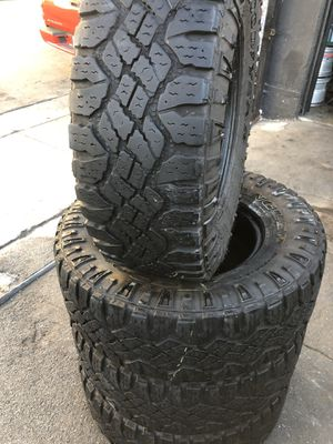 265/75R16 goodyear A/t tires (4 for $340 for Sale in Santa Fe Springs, CA