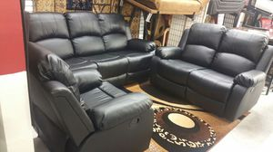 Sofa Reclinables FREE DELIVERY for Sale in Hyattsville, MD