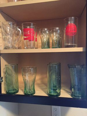 15+ Vintage Coca Cola Glasses for Sale in Houston, TX