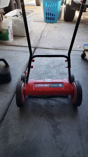 Troy Built Cordless Lawn mower Works great for Sale in North Las Vegas, NV