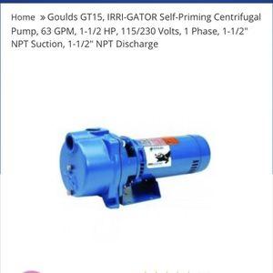 1 1/2 Hp Irrigation Pump. for Sale in Orlando, FL