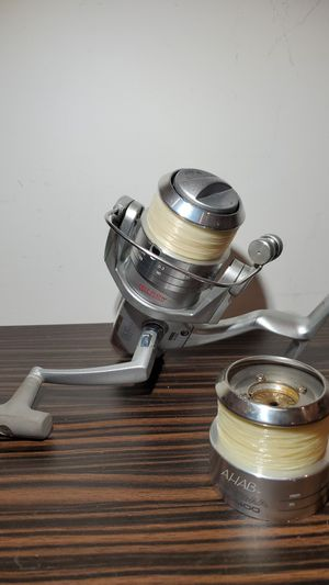 Fin Nor AHAB Estima ES-400 Fishing Reel with Extra Spool very smooth for Sale in Fort Lauderdale, FL