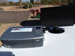 Printer and monitor for Sale in Mesa, AZ