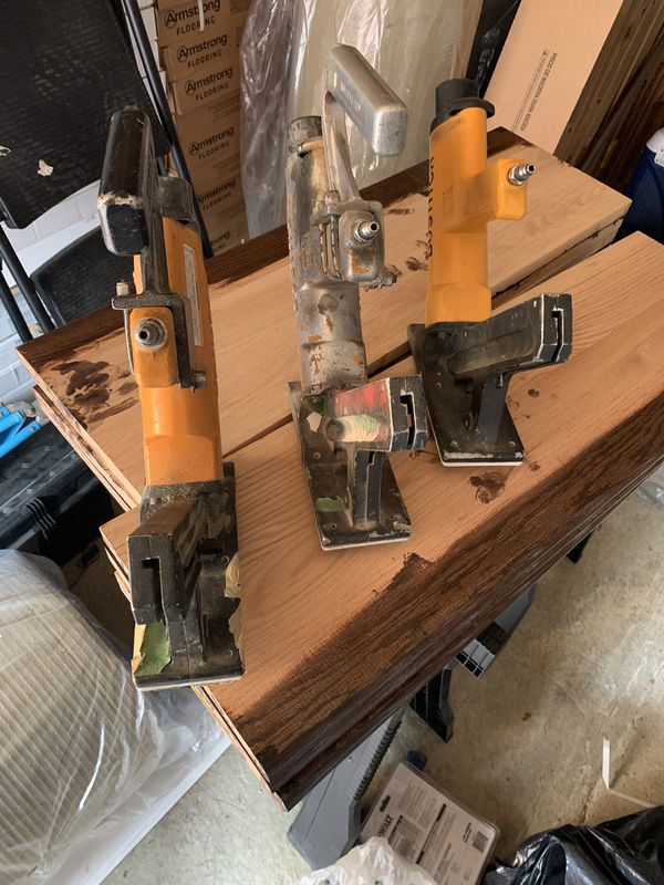 3 nail guns for flooring