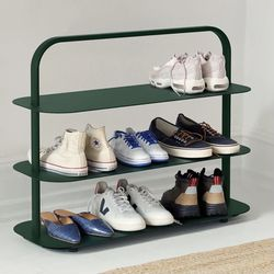 Open Spaces Dark Green Shoe Rack for Sale in Fountain Valley,  CA