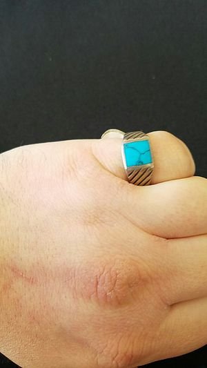 Silver and Turquoise Ring! for Sale in Denver, CO
