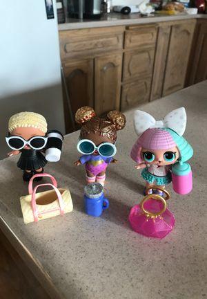 Lot of 3 LOL Dolls for Sale in Fountain Hills, AZ