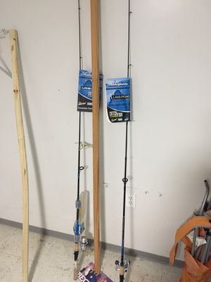 Two fishing rod/reel starter kits for Sale in Lowell, MA