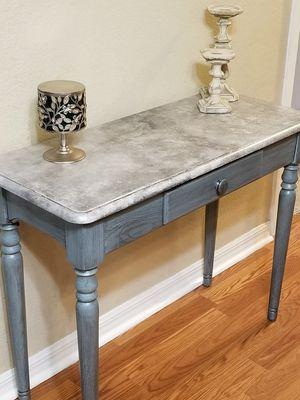 Re-loved Solid Oak Entry/Console table for Sale in Okeechobee, FL