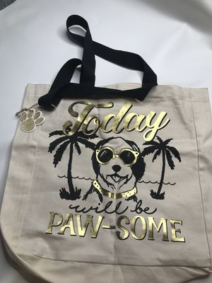 NWT dog tote Bag canvas puppy purse for Sale in Clermont, FL
