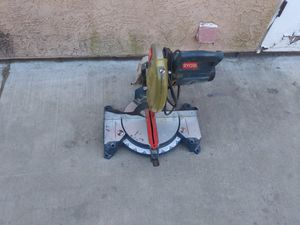 Ryobi chop saw for Sale in Bakersfield, CA