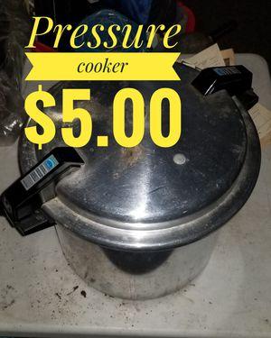 22qt pressure cooker for Sale in Tacoma, WA