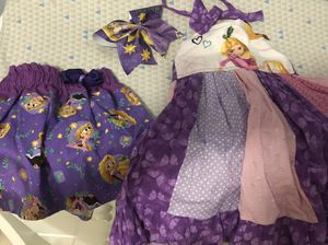 Rapunzel dress and skirt size 4 for Sale in Miami, FL
