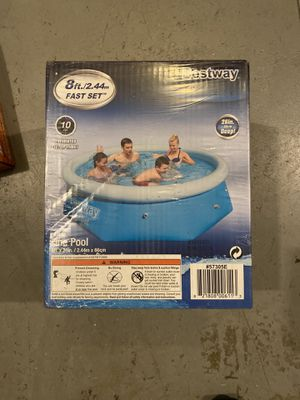 8ft quick set pool for Sale in Fayetteville, NC