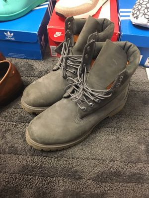 Size 10.5 grey Timbs for Sale in Tallahassee, FL