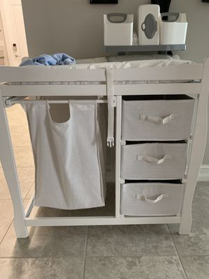 Baby changing table for Sale in Hollywood, FL