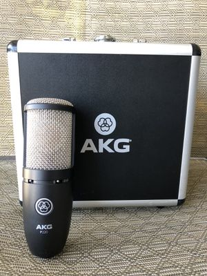 AKG P220 Studio Condenser Microphone Mic With Case for Sale in Fresno, CA