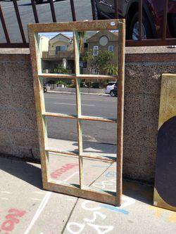 Beautiful Wood Mirror.....Vintage Look! for Sale in Redondo Beach,  CA