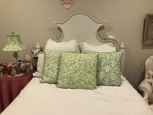Decorative Painted Pillows with Matching Lamp for Sale in Franklin, TN