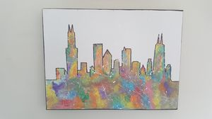 Chicago Skyline Painting for Sale in San Francisco, CA