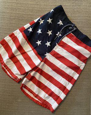 NWOT American Flag Trunks Size Boys 12 for Sale in Elizabethton, TN